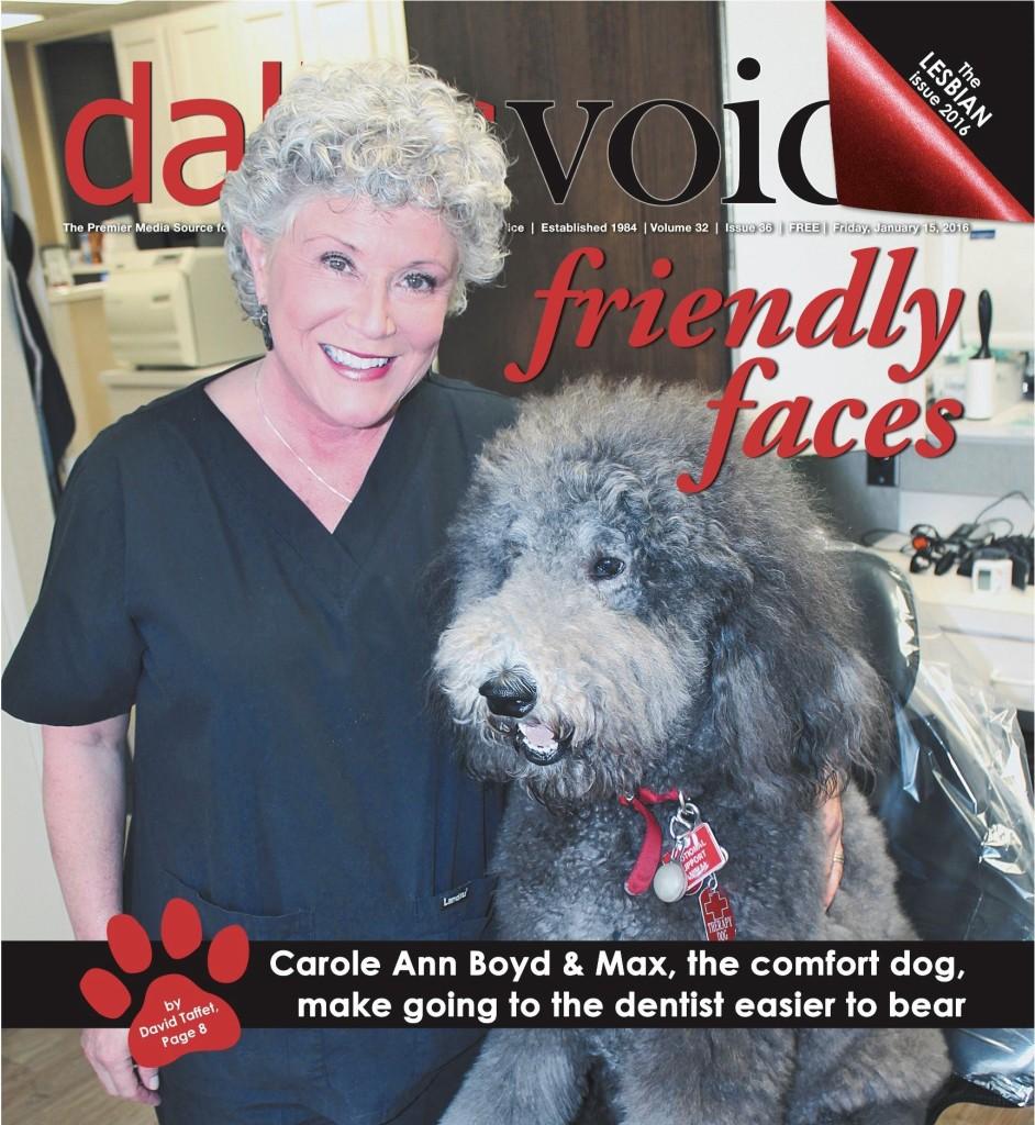 Dallas Voice cover page 01-16